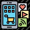 application, digital, menu, products, service