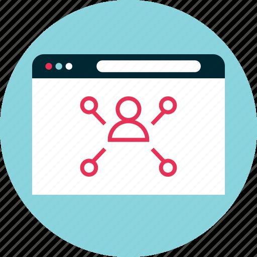 analytics, analyze, online icon