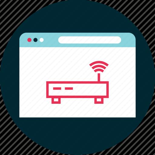 antenna, online, route icon