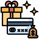 commerce, gift, gifts, presents, shopper icon