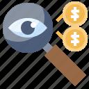 business, coin, dollar, money, taxes icon