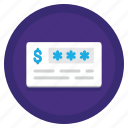 bank, cheque, money, payment icon