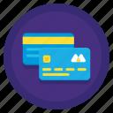 card, credit, credit card, debit, debit card icon