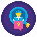 client, customer, know, kyc, your icon