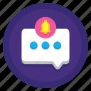 alert, notification, sms, text