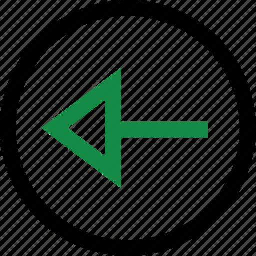 backwards, left, menu icon