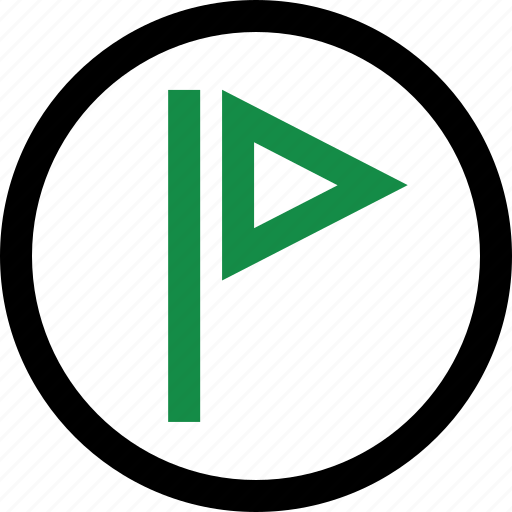 bookmark, flag, save, saved icon