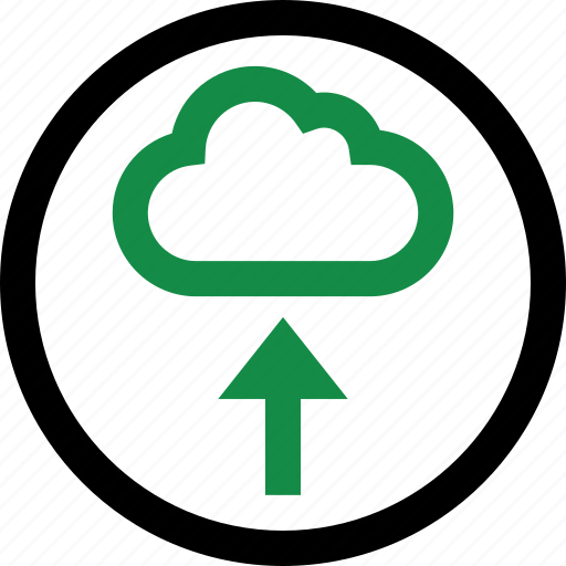 cloud, save, up, upload icon