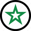 burst, favorite, star icon