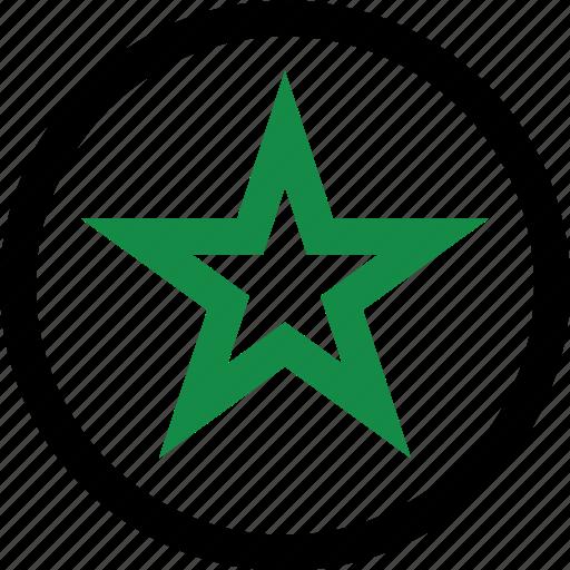 burst, favorite, star icon