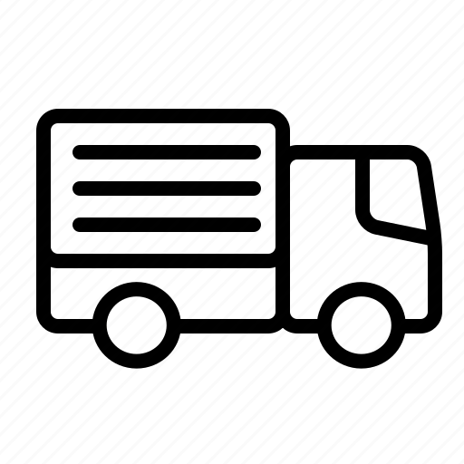 delivery, logistics, onlineshop, transportation, truck, van, vehicle icon