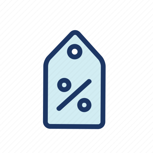 cheap, discount, ecommerce, percent, tag icon