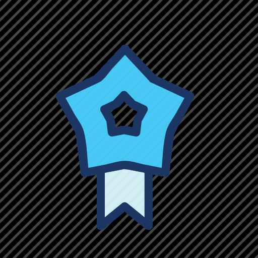 Badge, ecommerce, emblem, favourite, ribbon icon - Download on Iconfinder