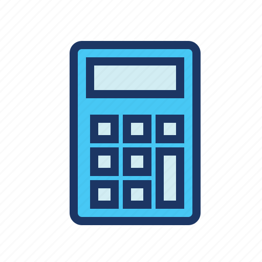 accounting, calculator, ecommerce icon
