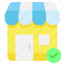 safety, shop, store, verify icon