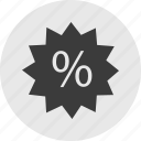 money, percentage, rate, tag icon
