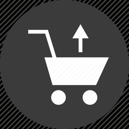 cart, delete, restore, shopping icon