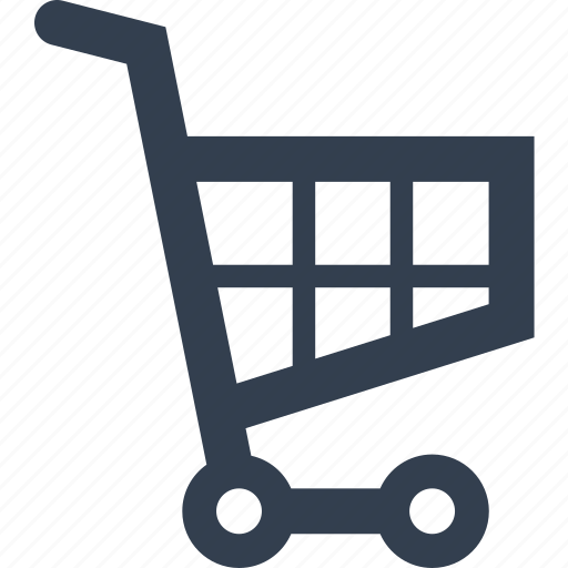 business, e-comerce, purchase, push, shopping, shopping cart icon