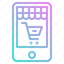 app, application, marketing, mobile, online, shop, shopping, store icon