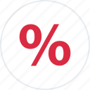 interest, rate, savings icon