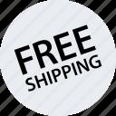 merchandise, online, store, web icon