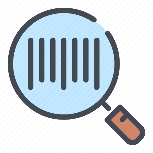 bar, barcode, code, find, search, shop, view icon