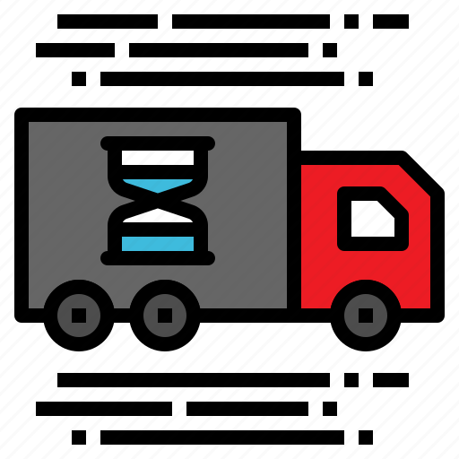 delivery, logistic, transportation, truck, vehicle icon