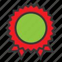 award, badge, online, shopping icon