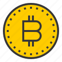 bitcoin, coin, money, online, shopping icon