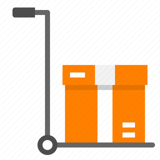 box, cart, logistic, packaging, product icon