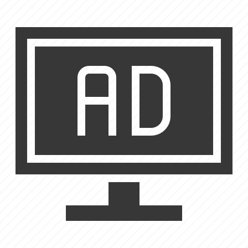 ad, ads, advertisement, ecommerce, online, shopping icon