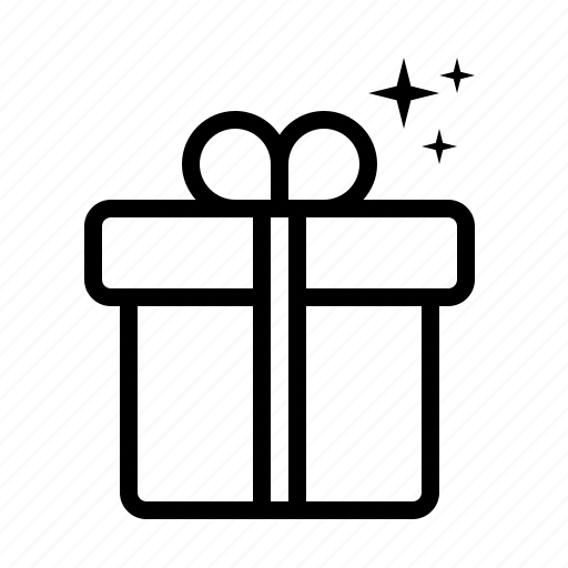 Box, surprise, packing, gift, package icon