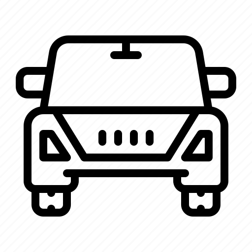 Automobile, travel, vehicle, car, suv icon