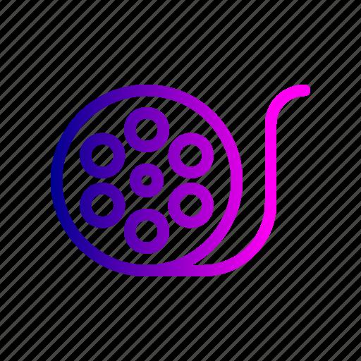 cinema, clip, movie, multimedia, reel icon