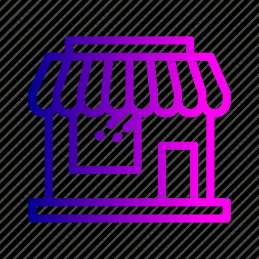 bazaar, building, mall, retail, shop, store icon