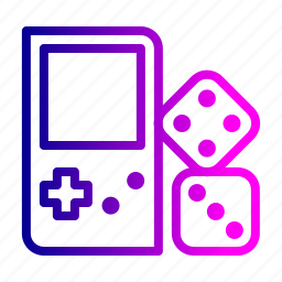 dice, game, handgame, indoor, kids, videogame icon