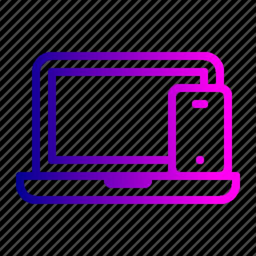 device, electronic, electronics, laptop, mobile, smart icon