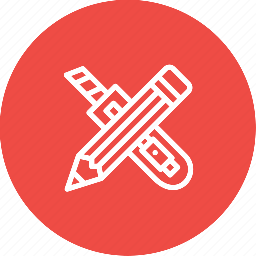 blade, cutter, design, pencil, stationary, tool icon