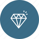 costly, diamond, gems, jewelry, lounge, luxury, stone icon