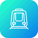 engine, metro, railway, train, transport, travel icon
