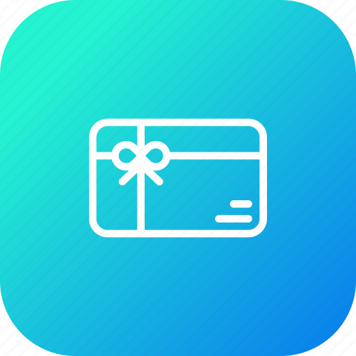 card, gift, marketplace, online, store, voucher icon