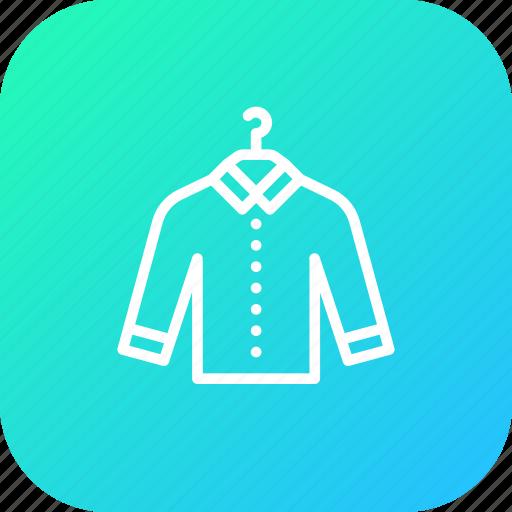 cloth, clothing, fashion, man, shirt, tshirt, wear icon