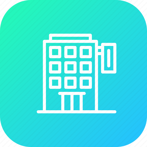 building, home, hotel, lodge, restaurant, stay icon