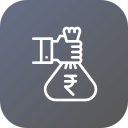 bag, finance, loan, money, profit, savings icon