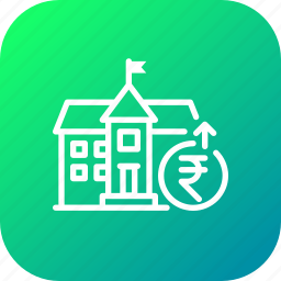 bank, cash, money, municipal, pay, payment, savings icon