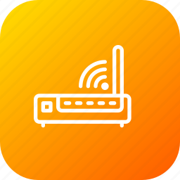broadband, internet, network, router, signal, wifi, wireless icon