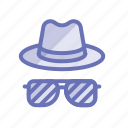 detective, fashion, goggles, hat, investigate, spy, style icon