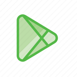 android, games, google, marketplace, play, store icon