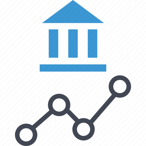 analyze, bank, banking, data icon