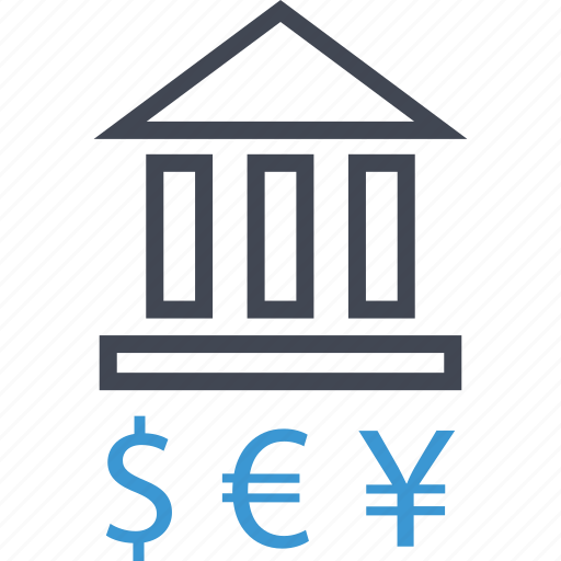 bank, banking, currency, money icon